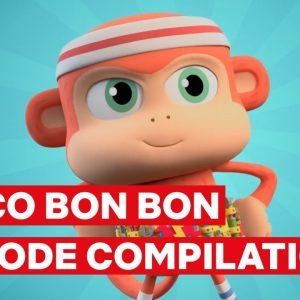 Chico Bon Bon Season 1 FULL EPISODE 1-5 Compilation 🐵 Netflix Jr