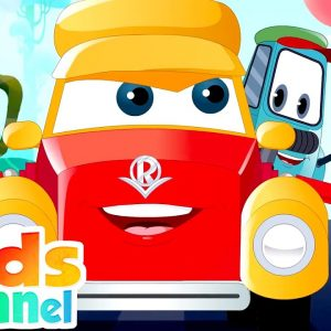 Picnic Perils | Car Cartoons for Kids | Super Car Royce | Rhymes for Children by Kids Channel
