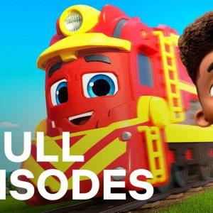 Mighty Express Season 1 FULL EPISODE 1-4 Compilation 🚂 Netflix Jr