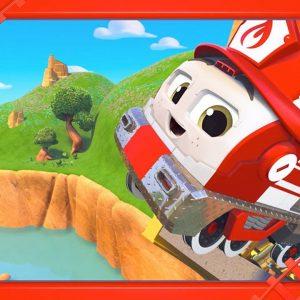 The Big Jump 😨 Mighty Express Short Tracks FULL EPISODE | Netflix Jr