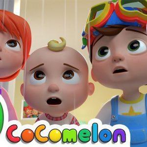 Rain Rain Go Away (Indoors Version) + More Nursery Rhymes & Kids Songs - CoComelon