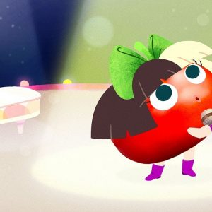 """""""I'm a Fruit"""" Song for Kids Ft. Sia the Tomato 🍅 Waffles + Mochi 