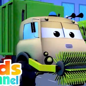 Frank, who am I? | Road Rangers Car Car Videos | Vehicle Rhymes from Kids Channel