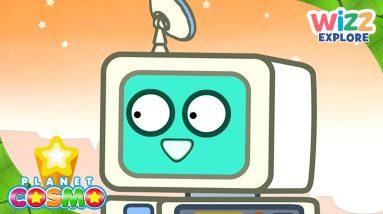 Planet Cosmo   Gill the Robo-Satellite Computer   Full Episodes   Wizz Explore