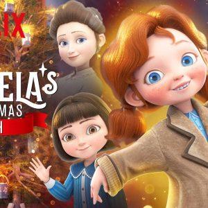 Angela's Christmas Wish Trailer 💫 Netflix Jr