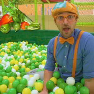 Learn Vegetables for Children with Blippi | Healthy Eating Videos for Kids