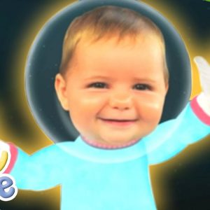 Baby Jake | Space Painting! | Full Episodes | Wizz Explore