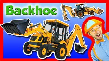 Backhoe Excavator for Kids - Explore A Backhoe