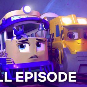 Bat Cave Tunnel 🦇 Mighty Express FULL EPISODE | Netflix Jr