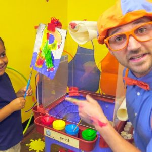 Blippi at the Play Place | Learn About Professions for Children