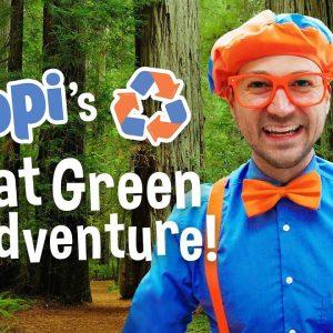 Blippi Great Green Adventure Movie | Educational Videos For Kids