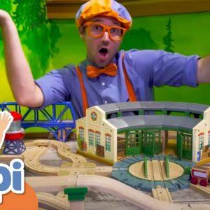 Blippi Visits A Children's Museum | Educational Videos For Kids