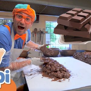 Blippi Visits A Chocolate Factory | Educational Videos For Kids