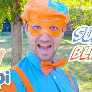 Blippi's Halloween Costume | Super Blippi! | Halloween Videos For Kids