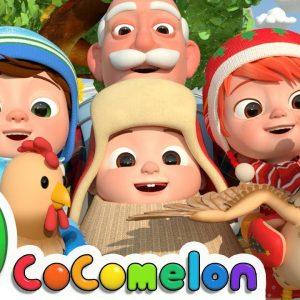 Christmas At The Farm | CoComelon Nursery Rhymes & Kids Songs