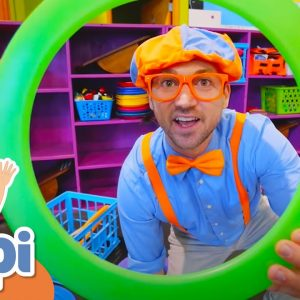 Blippi Visits The Circus Centre  | Learning About The Circus With Blippi | Educational Videos