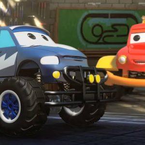 Clash Of Giants - Monster Truck Dan | Car Cartoon Video for Children