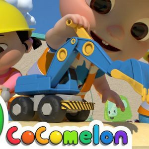 Construction Vehicles Song | CoComelon Nursery Rhymes & Kids Songs