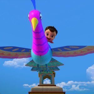 The Beautiful Bird Kite Chase 🦚 Mighty Little Bheem: Kite Festival | Netflix Jr
