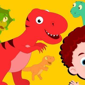 Dinosaur Song | Schoolies Cartoon Videos | Song For Children
