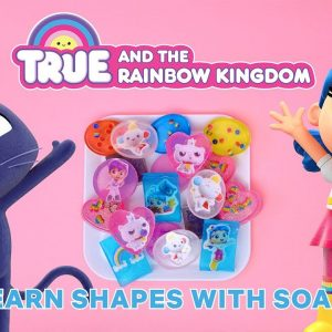 DIY True and the Rainbow Kingdom Soap 🧼 Netflix Jr