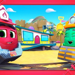 Day Off Duo ❄️☀️ Mighty Express Short Tracks FULL EPISODE | Netflix Jr