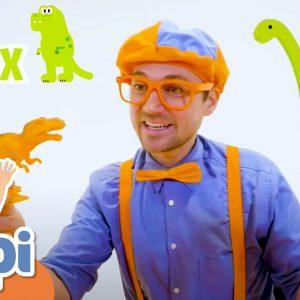Learning Dinosaurs For Kids With Blippi | Educational Videos For Children