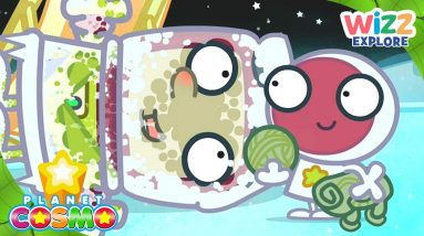 Planet Cosmo   The Cold Atmosphere of Outer Space   Full Episodes   Wizz Explore