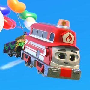 Flicker's Balloon Mega Mission 🎈 Mighty Express | Netflix Jr
