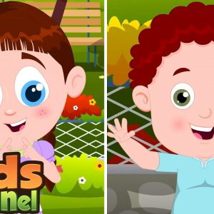Open Shut Them Song for Children | Opposite Words | Schoolies Nursery Rhymes from Kids Channel