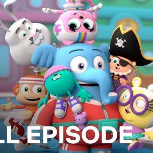 Gigantic Glue Ball | Chico Bon Bon FULL EPISODE | Netflix Jr