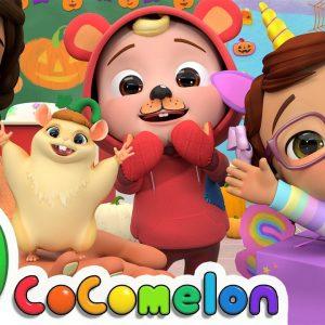 Halloween At School Song | CoComelon Nursery Rhymes & Kids Songs