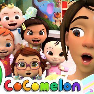Head Shoulders Knees and Toes + More Nursery Rhymes & Kids Songs - CoComelon
