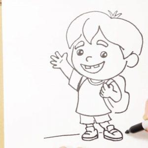 How To Draw Hank | Trash Truck | Netflix Jr