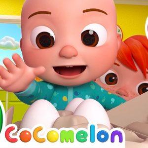Humpty Dumpty Song + More Nursery Rhymes & Kids Songs - CoComelon