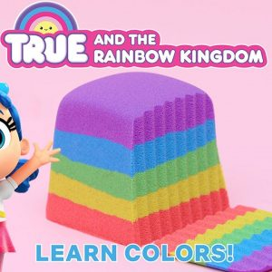 SUPER Satisfying Sand! Learn Colors with True and the Rainbow Kingdom | Netflix Jr