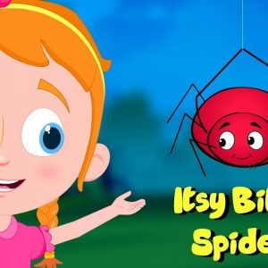 Itsy Bitsy Spider | Schoolies Cartoon Videos | Nursery Rhymes For Kids