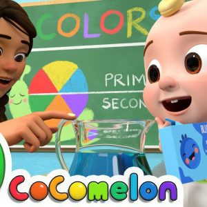 Jello Color Song | CoComelon Nursery Rhymes & Kids Songs