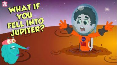 What if You Fell Into Jupiter? | Space Video | Planet Jupiter |  Dr Binocs Show | Peekaboo Kidz