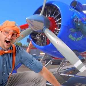 Blippi Learns About Airplanes For Kids | 1 Hour of Blippi Educational Videos For Toddlers | Blippi
