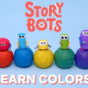 Learn Colors for Kids with StoryBots Clay 🌈 Netflix Jr
