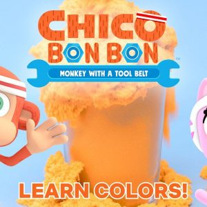 Learn Colors with Chico Bon Bon SUPER Satisfying Sand! | Netflix Jr