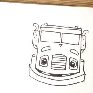 Learn To Draw Trash Truck | Trash Truck | Netflix Jr