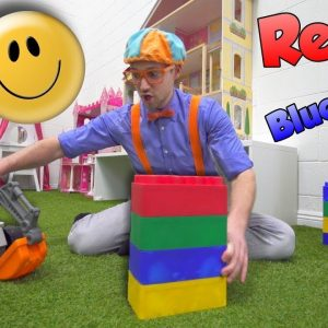 Learning Emotions and Feelings with Blippi | At the Indoor Play Place