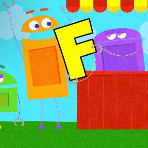 Letter F | StoryBots ABC Alphabet for Kids | Netflix Jr