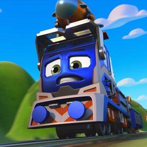 Milo's Train Rocket 🚀 Mighty Express | Netflix Jr