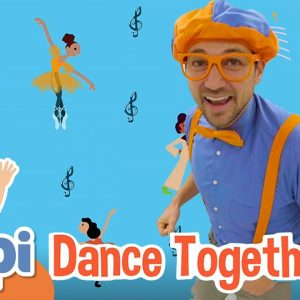 Learning To Move and Dance With Blippi and More Educational Blippi Videos For Kids