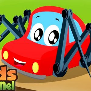 Incy Wincy Spider Song for Children | Little Red Car Cartoons | Videos for Babies - Kids Channel