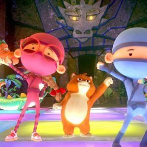 Ninja Dance Party 🕺 Hello Ninja | Netflix Jr