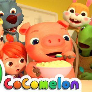 One Potato, Two Potatoes + More Nursery Rhymes & Kids Songs - CoComelon